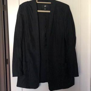 H&M Black Oversized Blazer